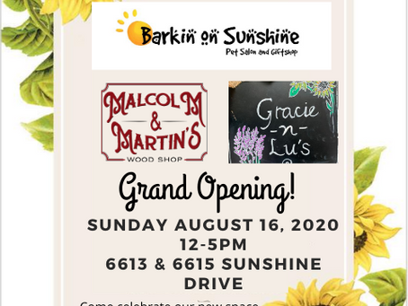 Join us for our official Grand Opening!