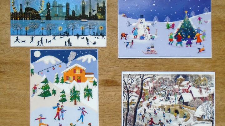 Snowy Fun - Pack of 4