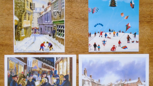 Snow Scenes - Pack of 4