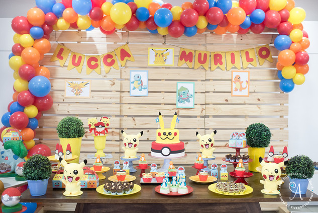 Festa infantil - Murilo e Lucca - Anga f