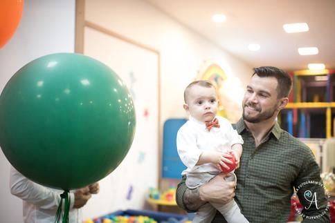 Vicente 1 ano - festa infantil - anga fo
