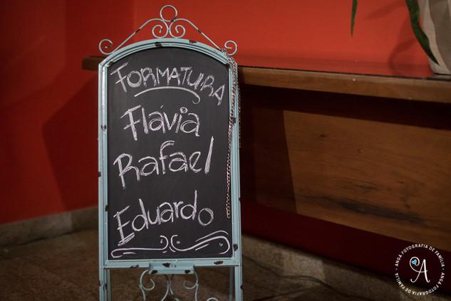 Recepção de Formatura - Flávia e Rafael-