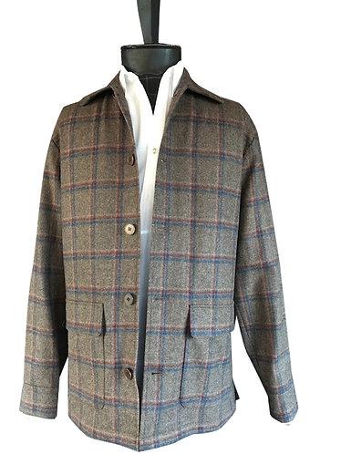 Theron Shirt Jacket Hudson Bay Plaid
