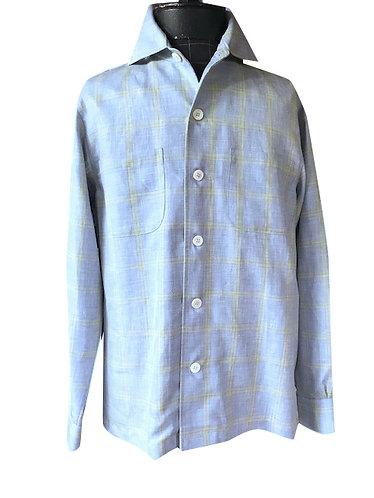 Summer Blue Linen