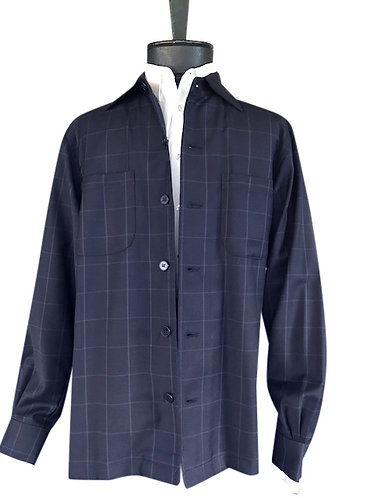 Navy Woodland shirt