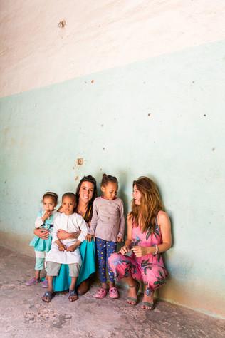 Locals Marokko Innerdoorway
