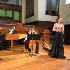 Ensemble Draca performing at Old First Church in San Francisco, CA