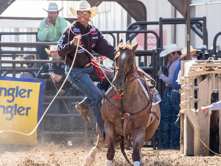 Second Time NFR Qualifier, Shad Mayfield, Finishes First Round in Second Place
