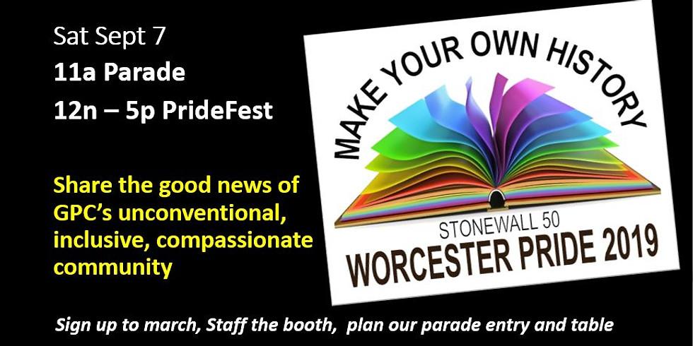 Worcester Pride 2019