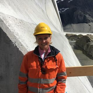 Visite du barrage