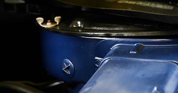FORD COBRA JAUNE -detail moteur cobra.jp