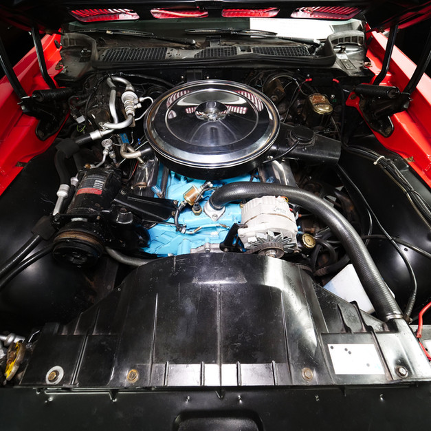 Pontiac Firebird Rouge blanche
