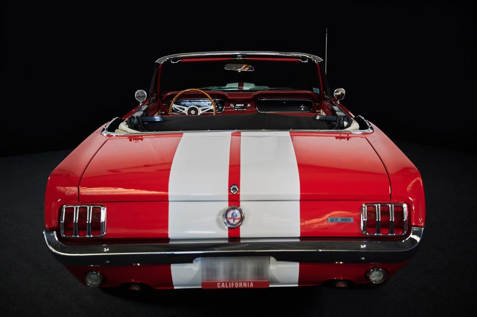 MUSTANG GT350 CABRIO - Une Américaine de légende en location Chez Cougarstars