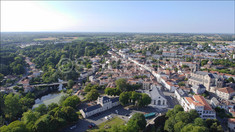 MONTAIGU VENDEE Chateau drone photo - startair-drone.com