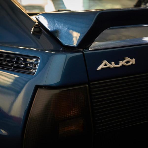 AUDI QUATTRO - Une puissante Youngtimer de Rallye en location chez Cougarstars