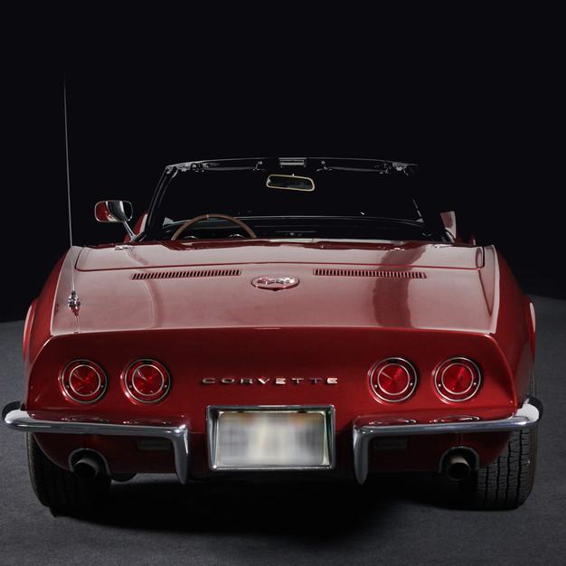 CORVETTE CABRIOLET ROUGE - Un Muscle Car en location chez Cougarstars.com