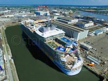 HARMONY OF THE SEAS Départ St Nazaire - startair-drone.com