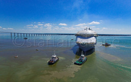 HARMONY OF THE SEAS Saint NAZAIRE DEPART startair-drone.com