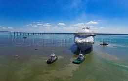 HARMONY OF THE SEAS Saint NAZAIRE DEPART startair-drone.com