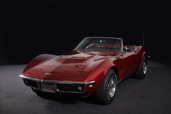 CORVETTE CABRIOLET ROUGE - Location Auto Collection Cougarstars