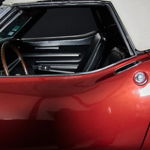 CORVETTE CABRIOLET ROUGE - Un Muscle Car en location chez Cougar