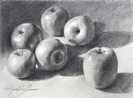 """""""Apples"""" Graphite pencil demo"""