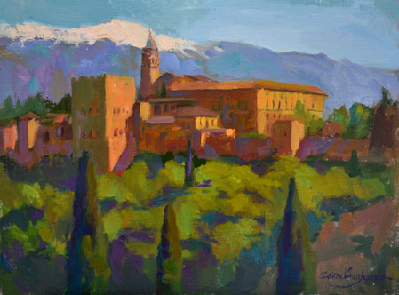 Alhambra, afternoon light