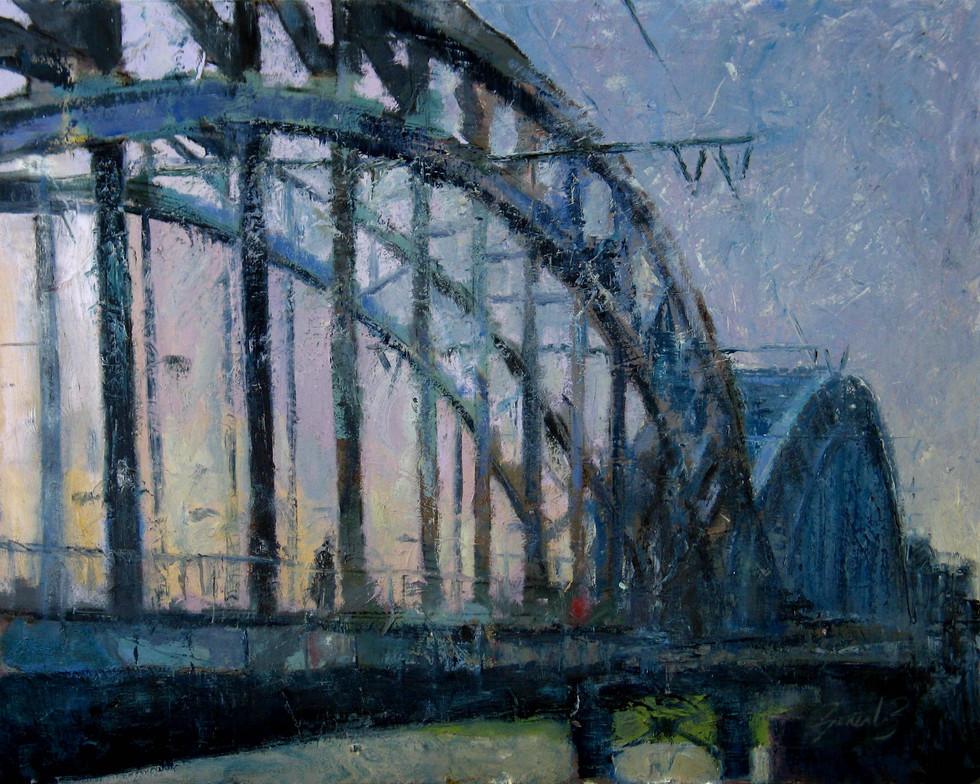 Puente del Ferrocarril en Colonia