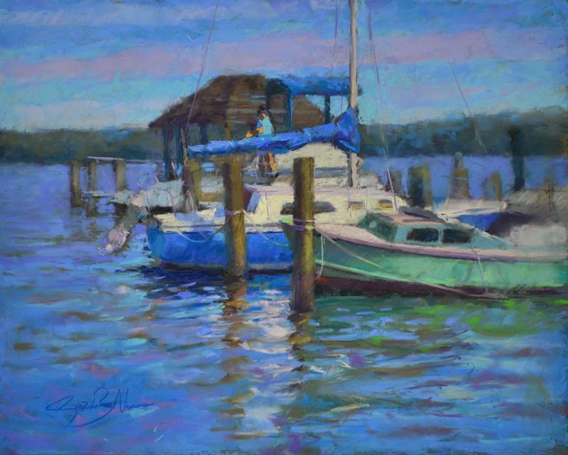 RuizNavarro-BoatsInAlexandria-Pastel-AmpersandBoard-16x20.jpg
