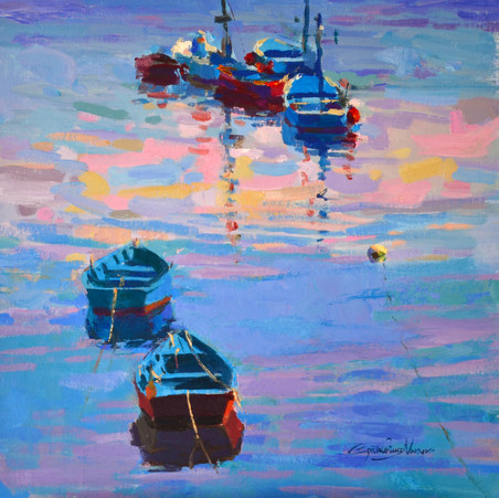 Barcas en Cudillero