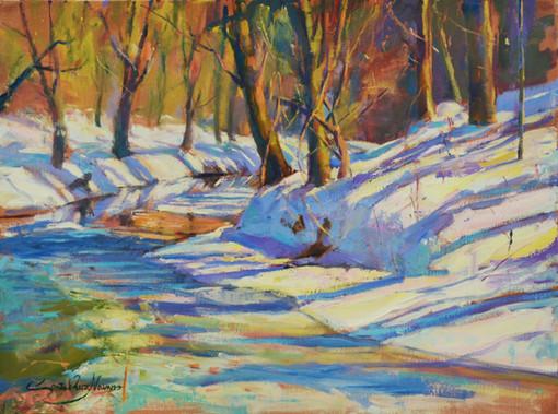 Snow at Rock Creek