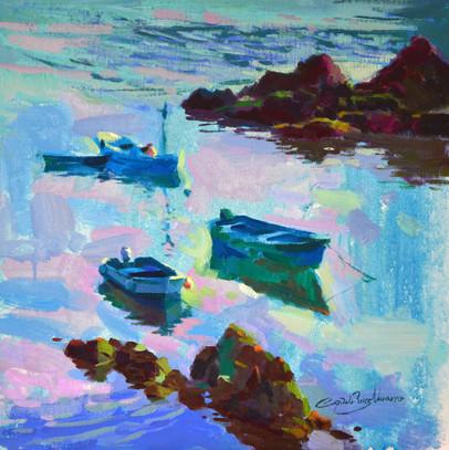 Barcas en Cudillero 2