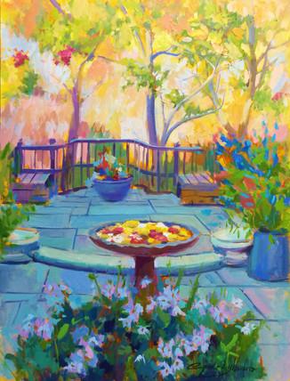 Dumbarton Oaks Arbor Terrace