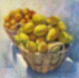 Lemons and Oranges - Pastel on paper - 1