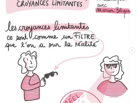"""""""J'arrête les croyances limitantes"""", un livre de Marion Blique"""