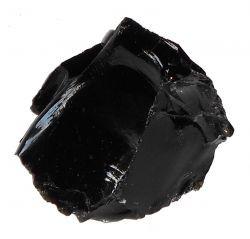 obsidienne, pierre brute, lithothérapie, pierre, signification, propriétés, reiki, soins énergétiques, paris 17, ancrage, médium, énergies