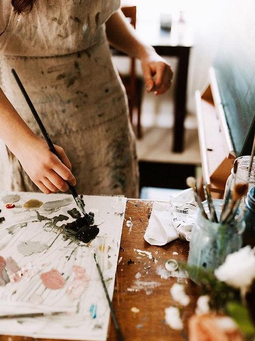 Ambachtelijke schildercursus /woensdagochtend