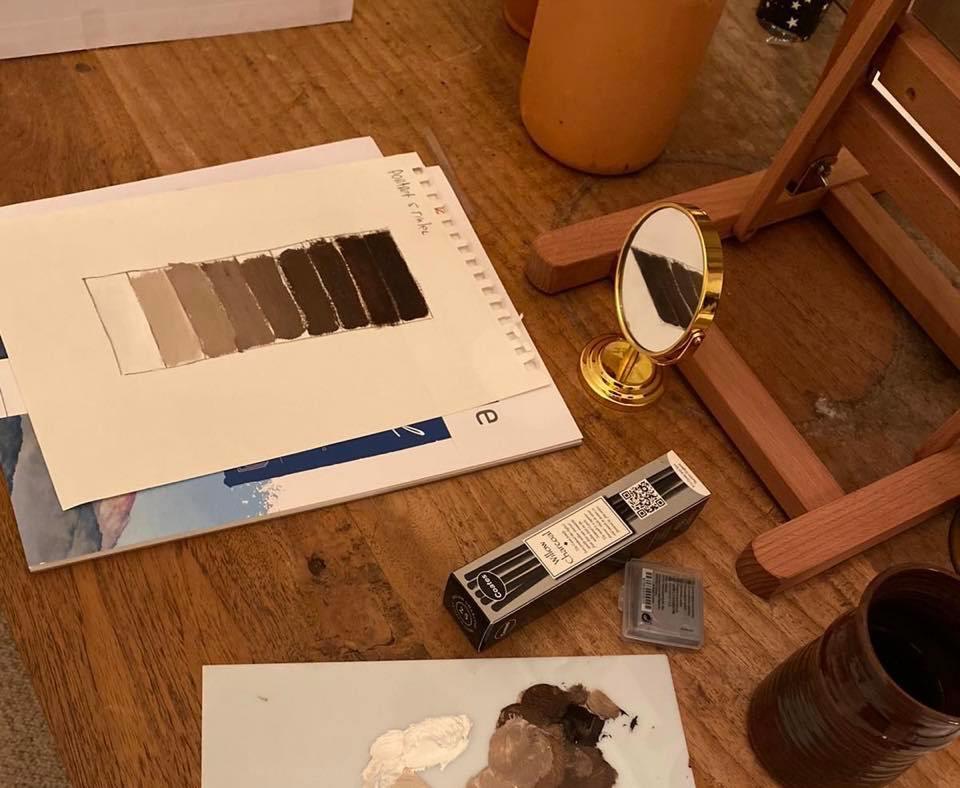 Een toonladder maken is een essentieel hulpmiddel voor realistisch leren schilderen!