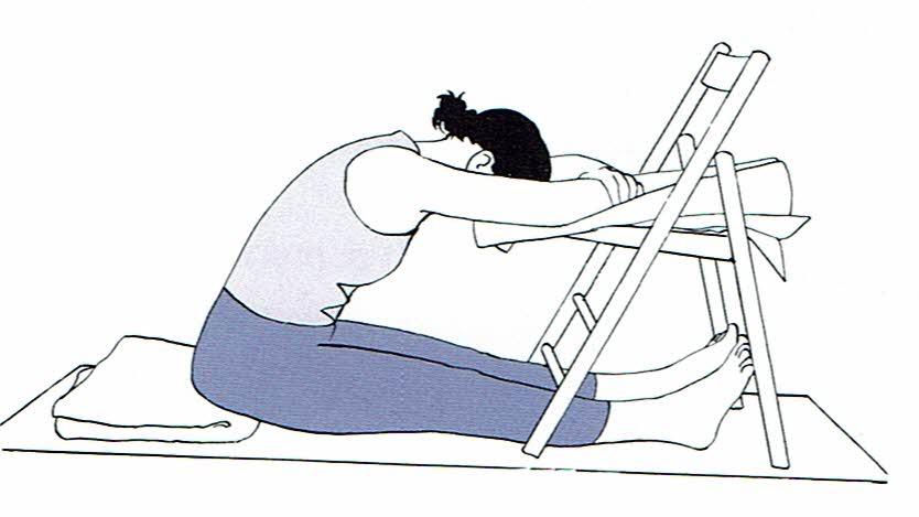 Paschimottanasana chair