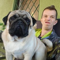 😊😊 #selfie #dogselfie #lazy #lazyday #