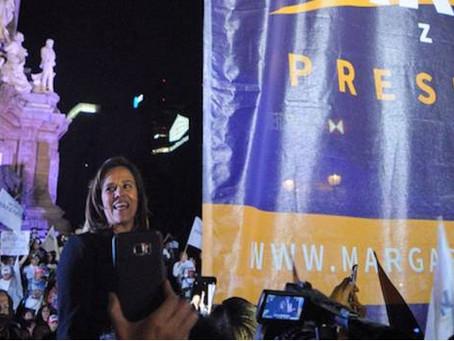 La pobre convocatoria de Margarita Zavala en su arranque de campaña.