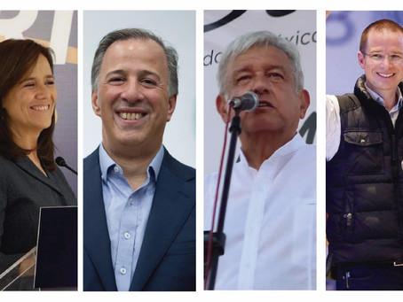 Presidenciables se preparan para arrancar campañas