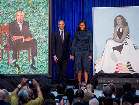 Estos son los retratos de los Obama en la Galería Nacional