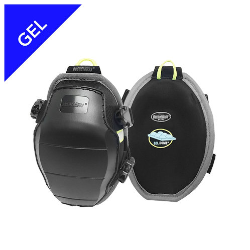 MOLDED GELDOME SWIVEL KNEE PADS