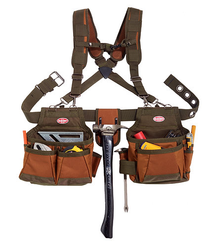 AIRLIFT TOOL BELT with SUSPENDERS