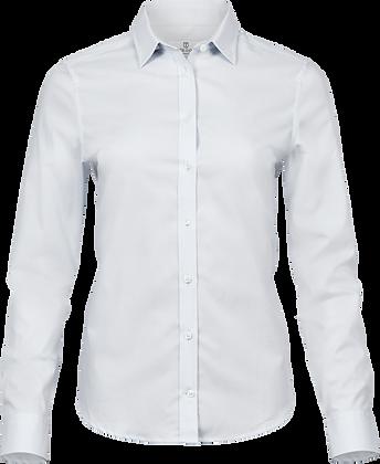 Stretch Luxury Shirt - White