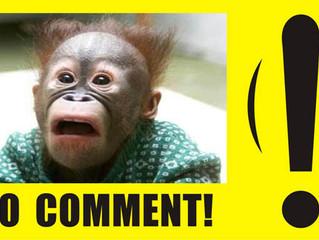 """Good Statement vs. """"No Comment"""""""