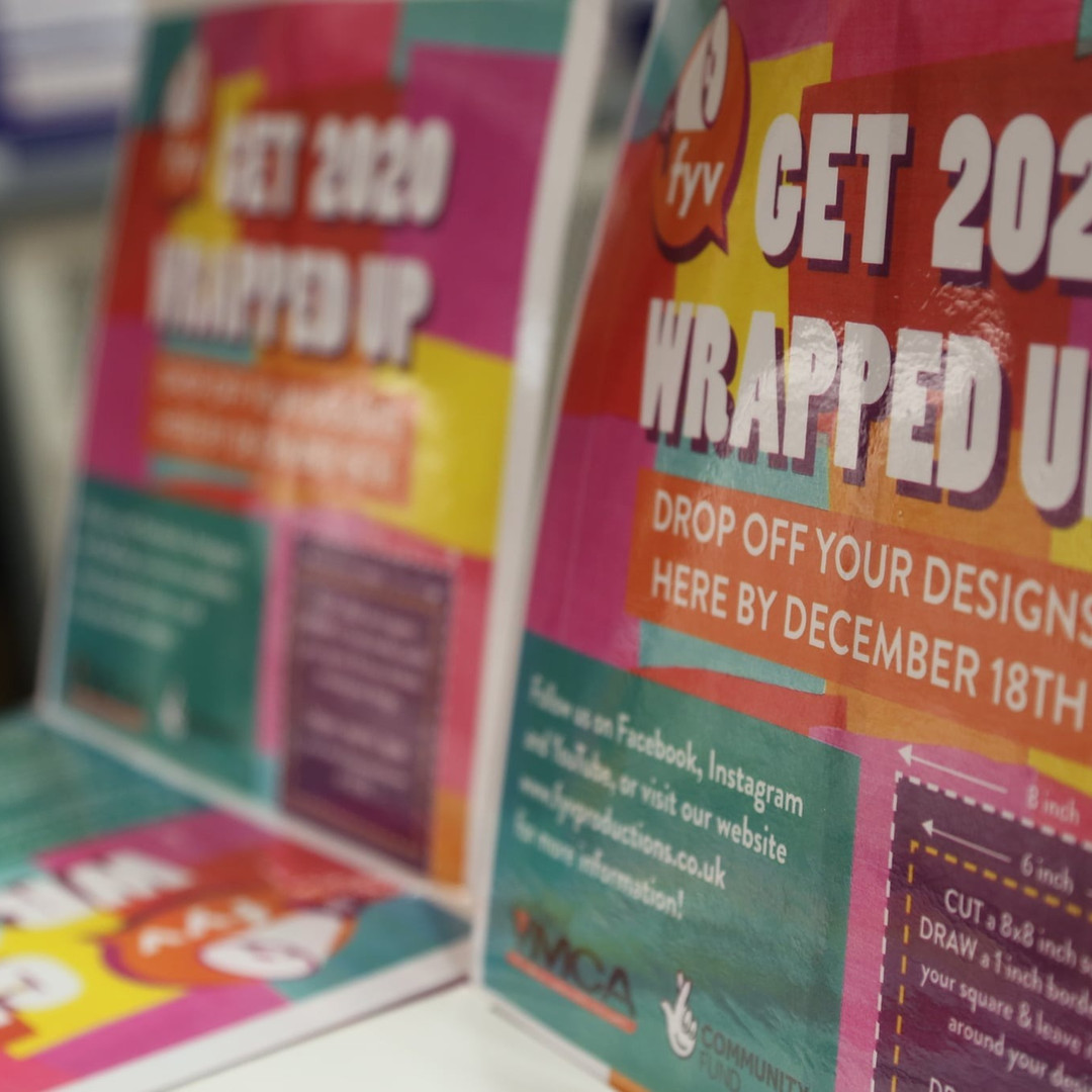 Get 2020 Wrapped Up - Drop Off Box Making