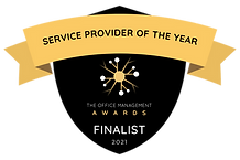 Service Provider of the Year - Finalist.