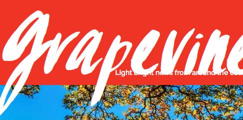 Priority feature in Grapevine magazine!